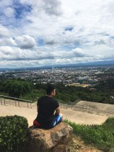 Hat Yai City top view